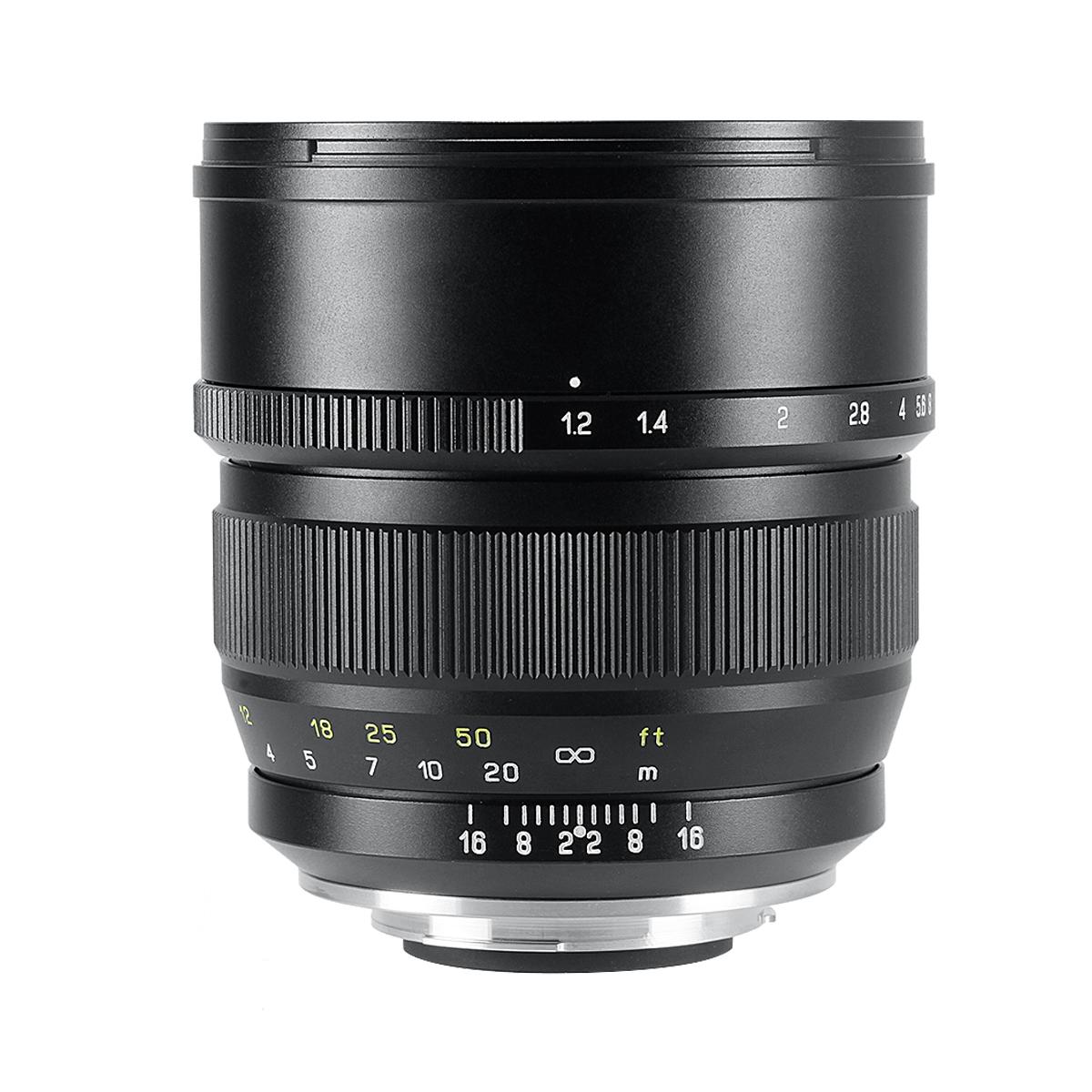 中一光学 SPEEDMASTER ZHONG 記念日 YI OPTICS 85mm 単焦点レンズ 爆売り - F1.2 ペンタックスKマウント