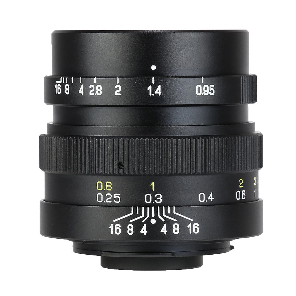 中一光学 ZHONG YI OPTICS SPEEDMASTER 25mm F0.95 - マイクロフォーサーズマウント 単焦点レンズ