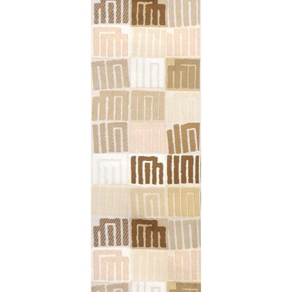 半幅帯 正絹「源氏香」 白系 京玉響 西陣織