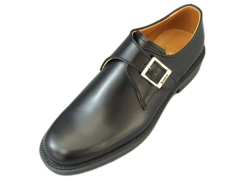 【K642L】【KENFORD】【送料無料】【定番】【日本製】本革☆ケンフォード 3E 幅広 モンクビジネスシューズ紳士靴
