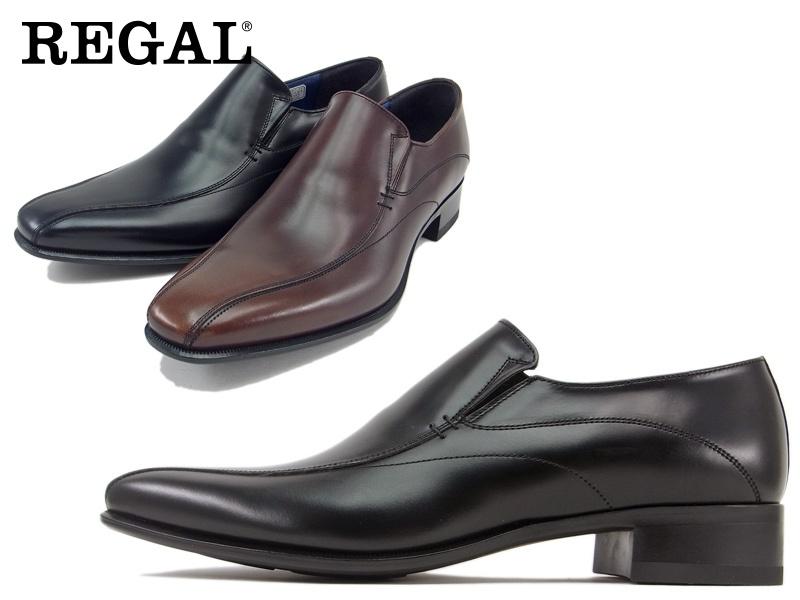 26FRBB REGAL ビジネスシューズ 紳士靴 即納 日本製 送料無料 本革 アッパー全て本革星☆セミマッケイ式製法ハイヒール仕様のヴァンプビジネスシューズ紳士靴 アイテム勢ぞろい