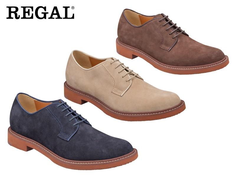 【51MRAH】【REGAL】【送料無料】☆すべて本革レザープレーントウビジネスシューズ紳士靴