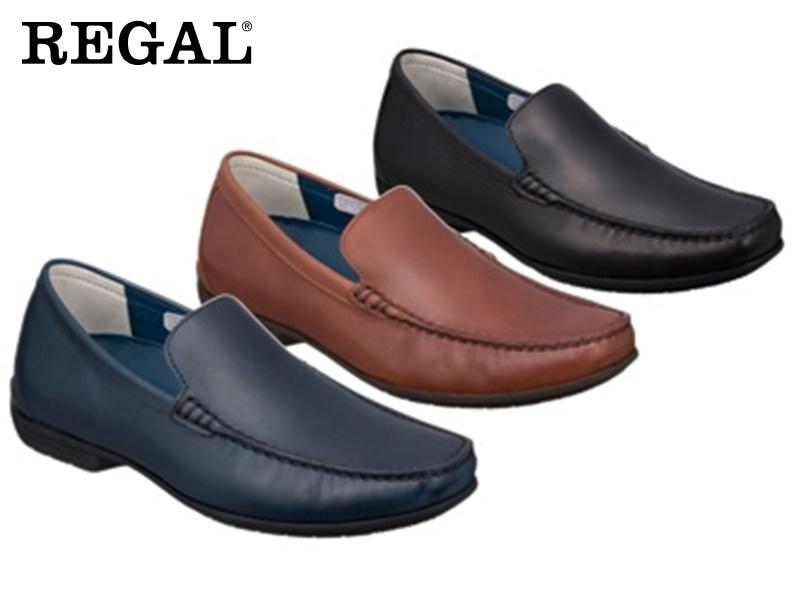 56HRAF REGAL 宅送 送料無料 まとめ買い特価 ☆すべて本革レザーヴァンプビジネスシューズ紳士靴