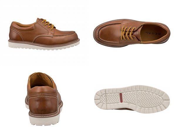 56NRAH REGAL おすすめ ホワイトソール☆すべて本革アメリカンワークシューズビジネスシューズ紳士靴 送料無料 マート