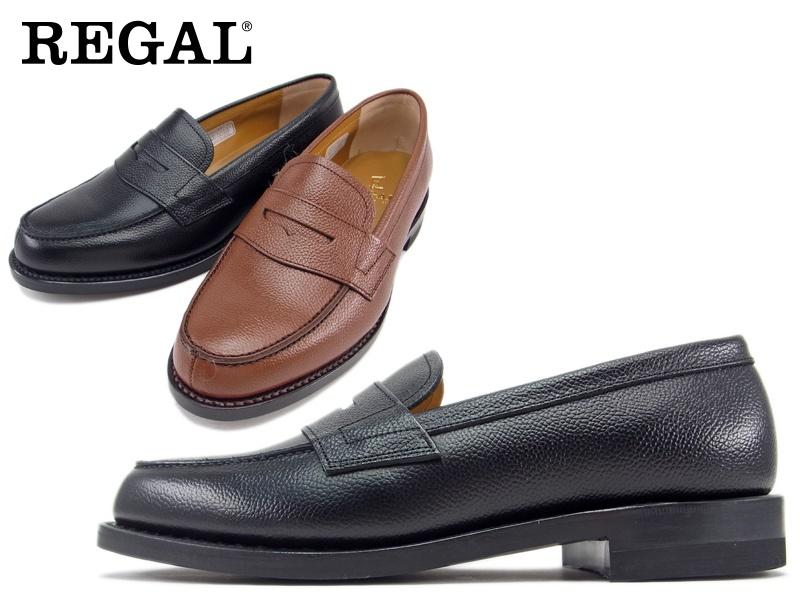 JJ16AL 訳あり品送料無料 REGAL 送料無料 アッパー全て本革☆グッドイヤーウエルト式ローファービジネスシューズ紳士靴 日本製 新着セール