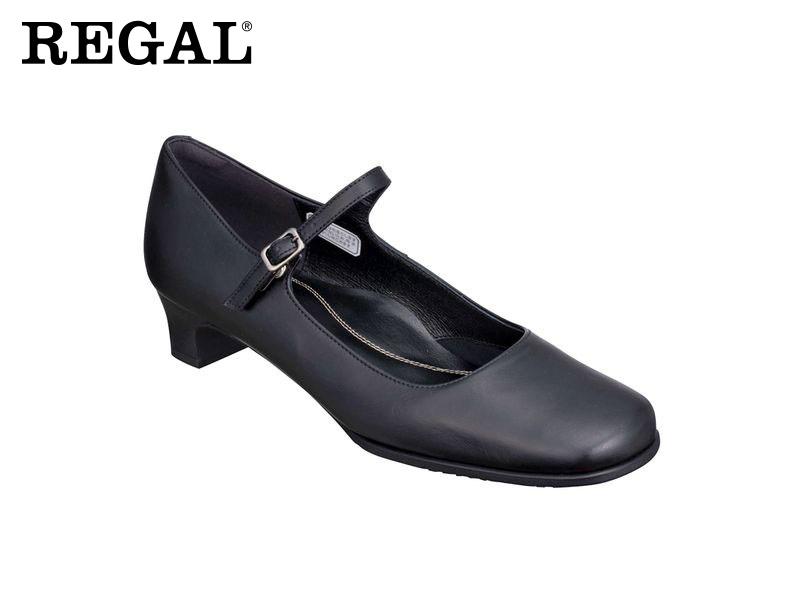 【6669AC】【Regal】【送料無料】【日本製】牛革 ☆フォーマルストラップパンプス  婦人靴