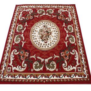 激安 じゅうたん カーペット マット ラグマット 4.5畳 四畳半 4.5帖 ラグカーペット 春夏秋冬 オールシーズン 安い ベルギー製 輸入ラグ カーペット レッド 約240×240cm シラーズ1123 (Y) 絨毯 ジュータン 赤 red roze rug carpet mat スーパーSALE