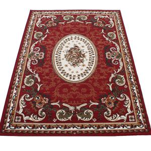 激安 じゅうたん カーペット マット ラグマット ラグカーペット 春夏秋冬 オールシーズン 安い ベルギー製 輸入ラグ 輸入カーペット レッド 約200×250cm シラーズ1123 (Y) 絨毯 ジュータン 赤red roze rug carpet mat made in belgium スーパーSALE