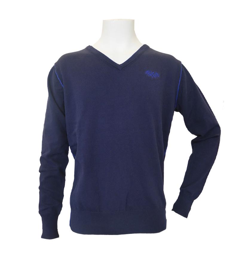 ゴルフウェアブランド チェイスバンパイア 公式OnlineShop CV20-5105 入手困難 はみ出し配色セーター 超激安 全2色