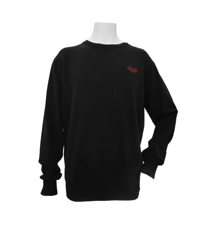 絶品 ゴルフウェアブランド チェイスバンパイア 公式OnlineShop CV20-5106 新作送料無料 カシミヤ混クルーネックセーター
