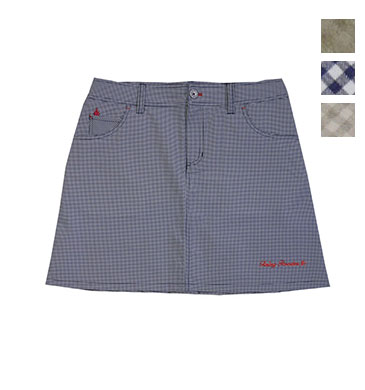 ゴルフウェアブランド フェアリーパウダー 安心と信頼 正規店 公式OnlineShop PRICEDOWN FP19-2201 チェック柄バックプリーツスカート 全3色