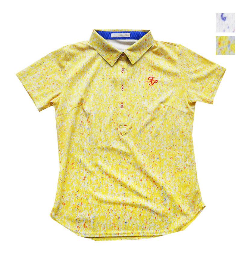 ゴルフウェアブランド フェアリーパウダー 公式OnlineShop 爆買いセール PRICE DOWN レディース FP×中島麦コラボポロ FP20-2103 贈呈 全2色