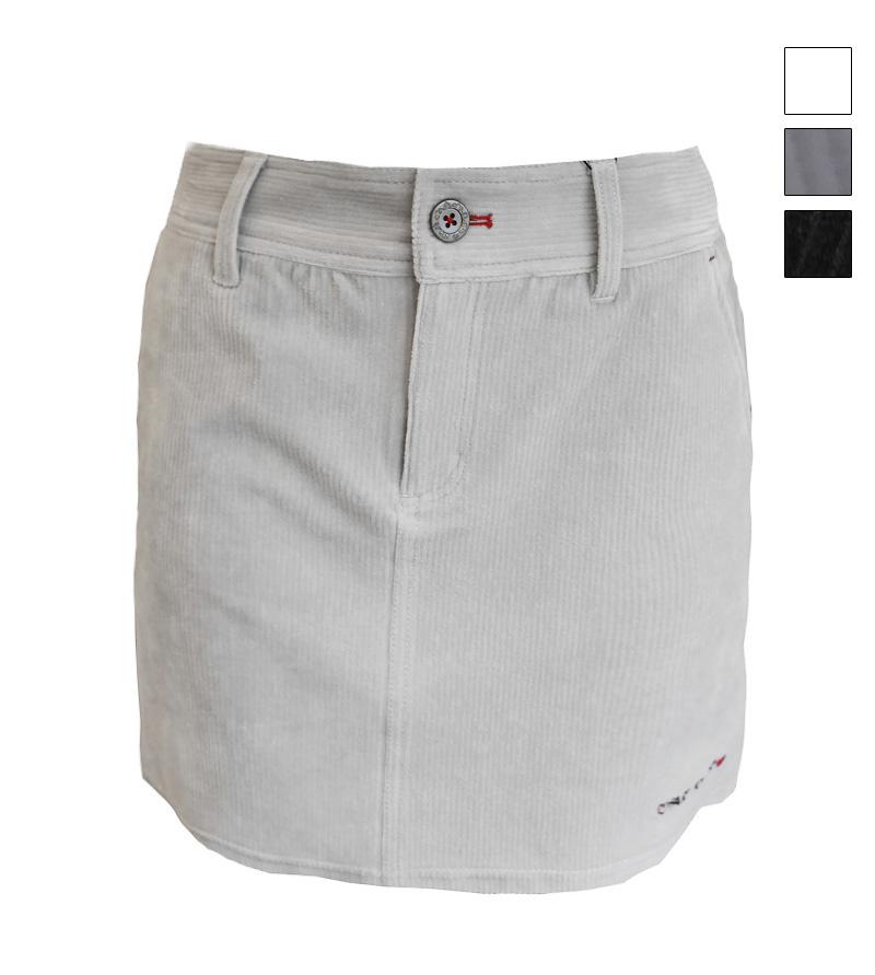 ゴルフウェアブランド 訳あり フェアリーパウダー 公式OnlineShop おしゃれ ゴルフウェア レディース 初売り スカート 秋冬 FP20-6201 コーデュロイスカート 全3色