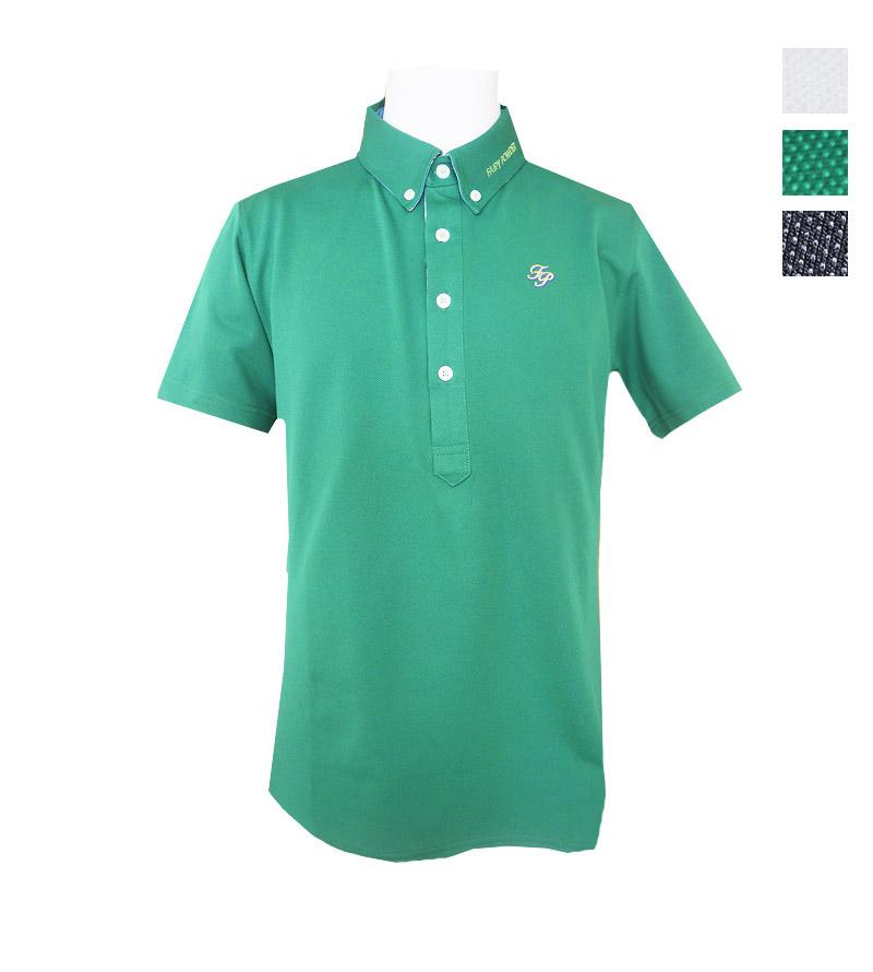 ゴルフウェアブランド フェアリーパウダー 公式OnlineShop オンラインショッピング 2021 鹿の子無地半袖ポロ FP21-1120 贈り物 新作