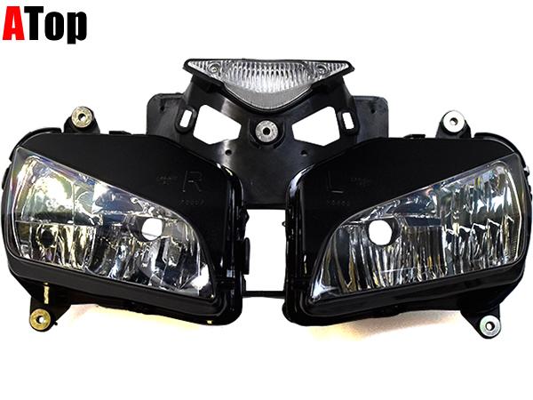 新品CBR1000RR 2004~2007 SC57 社外品 ヘッドライトユニット ヘッドライト本体 クリア