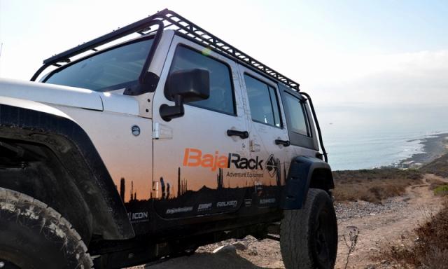"Baja Rack バハラック JEEP 지프 JK Wrangler JK 랭 글 러 4 도어 2007 년 식 이후 현재 ""UTility Flat Rack"" 유틸리티 플랫 랙 (루프 랙/루프 바구니)"