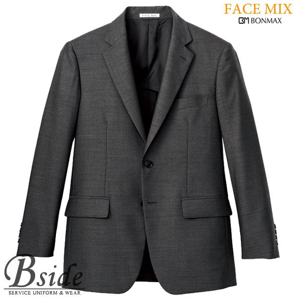 【FACE MIX フェイスミックス】メンズストレッチ ジャケット fj0006m (BONMAX ボンマックス)程良く光沢のある風合いで上品なスタイルに(BONMAX) fj0006m THE CATALOG オールシーズンコレクション