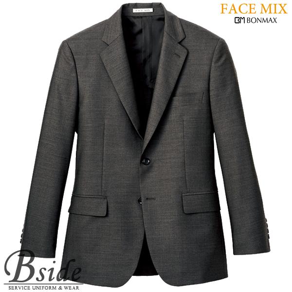 【FACE MIX フェイスミックス】メンズスリム ストレッチジャケット fj0007m (BONMAX ボンマックス)すっきりと見せてくれるスリムなシルエット(BONMAX) fj0007m THE CATALOG オールシーズンコレクション
