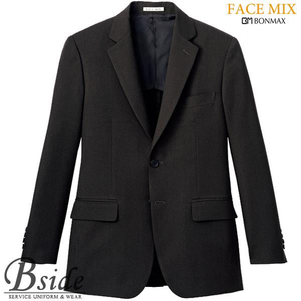 【FACE MIX フェイスミックス】メンズストレッチ ジャケット fj0008m (BONMAX ボンマックス)さらっとした肌触りの豊かな風合いがポイント(BONMAX) fj0008m THE CATALOG オールシーズンコレクション