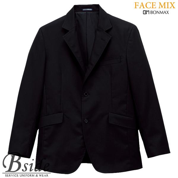 【FACE MIX フェイスミックス】メンズテーラード ジャケット fj004m (BONMAX ボンマックス)上品なスタイルが際立つ洗練されたラインが魅力(BONMAX) fj004m THE CATALOG オールシーズンコレクション