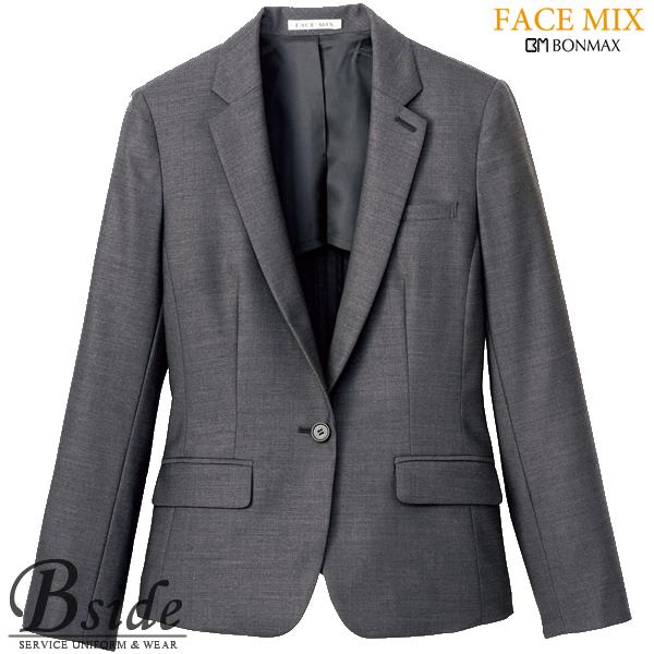 【FACE MIX フェイスミックス】レディスストレッチジャケット fj0304l (BONMAX ボンマックス)程良く光沢のある風合いで上品なスタイルに(BONMAX) fj0304l THE CATALOG オールシーズンコレクション