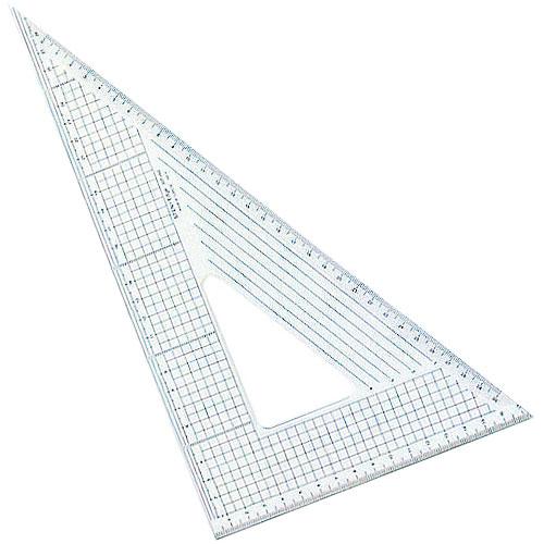 メール便可 カット作業に最適 コンサイス ステンエッジ三角定規 側面ステンレス加工 60度 30cm 本店 製図 文房具 定規 ものさし 事務用品 30T-60大きい オリジナル