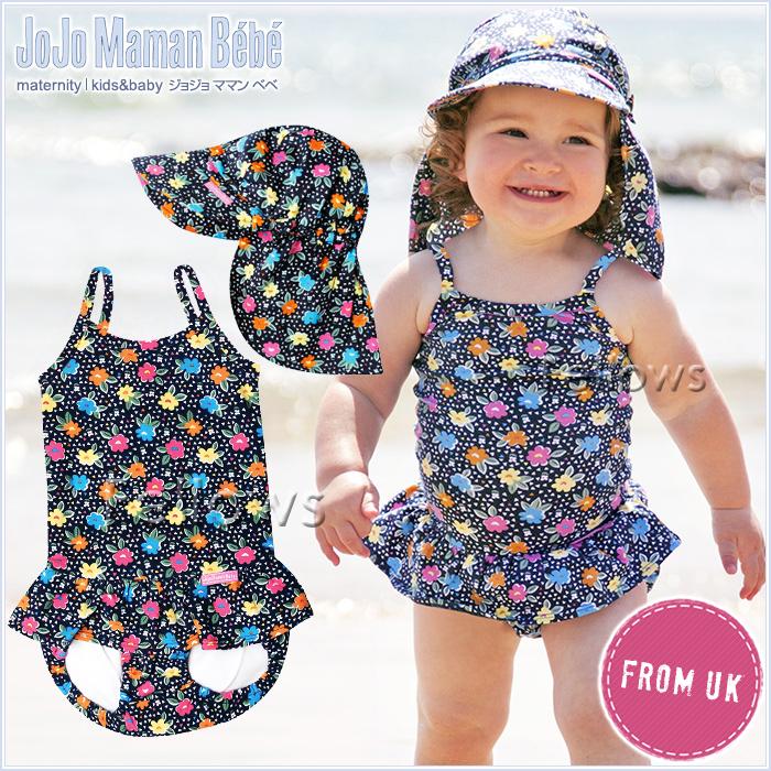 0f38cc0dd120 English country from * JoJo Maman Bebe ( ジョジョママンベベ ) baby for swimsuit  ワンピース ...