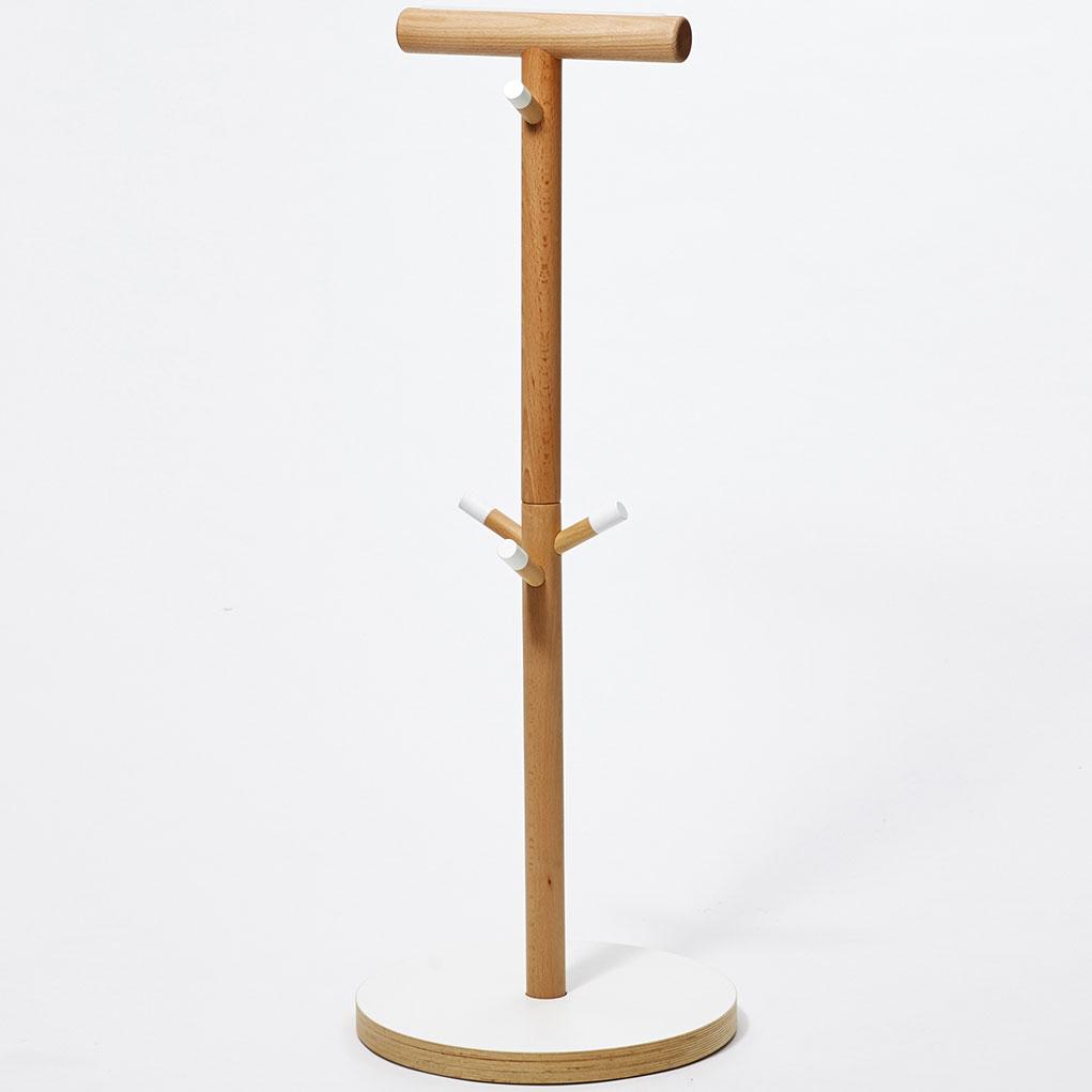 子ども家具 ideaco プライウッドシリーズ コドモハンガー ランドセルスタンド ランドセルラック おしゃれな子供家具! イデアコ Plywood Series kodomo hanger