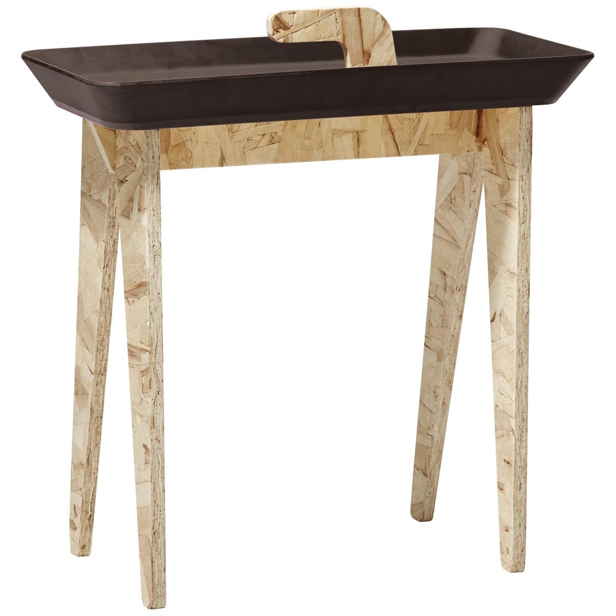 サイドテーブル ideaco タイニーウォーク イデアコ Tiny Walk マットブラウン