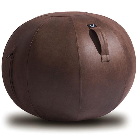 シーティングボール Vivora ルーノ レザーレット 合皮 おしゃれ!お部屋に置きたいインテリア性! ヴィボラ LUNO LEATHERETTE ブラウン