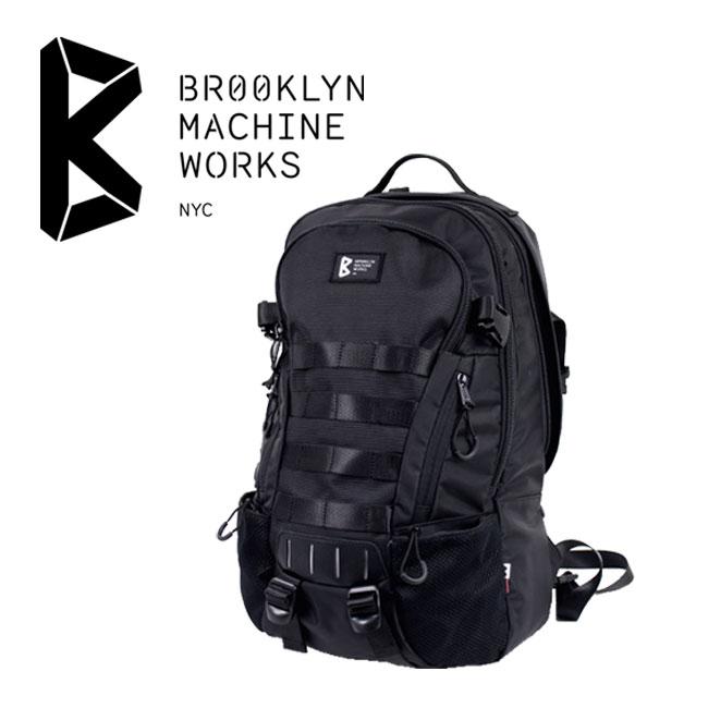 ブルックリンマシンワークス バッグ 背中への圧力を緩和する低反発パットを使用したバックパック