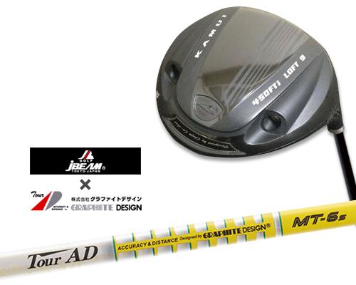 【カスタムドライバー】【KAMUI(カムイ) TP-09D ドライバー】【9°/10°/11°】【グラファイトデザイン Tour AD MT(ツアーAD) シャフト】