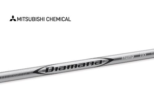 【Mitsubishi Chemical(三菱ケミカル)Diamana Thump Hybrid(ディアマナ サンプ ハイブリッド) h100】