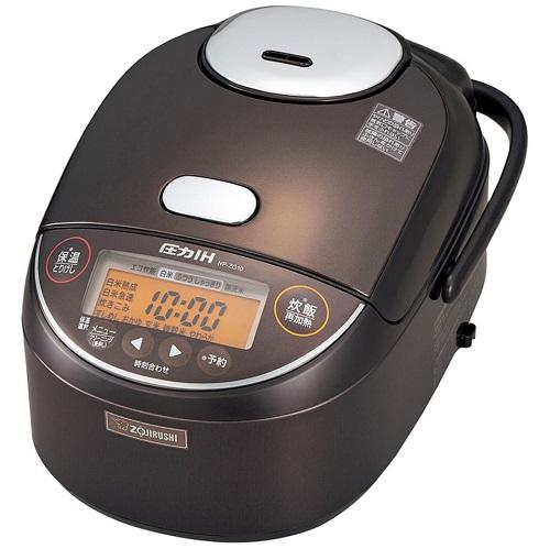 象印 5.5合炊き 炊飯器 圧力IH炊飯ジャー 極め炊き NP-ZG10-TD ダークブラウン キュッシュレス5%還元対象