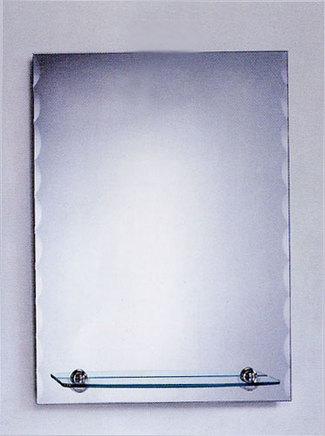 ミラー 鏡 シンプル 洗面 至上 おしゃれ スクエア 棚付き 壁掛け 棚 幅60×高80cm JY17-600 流行