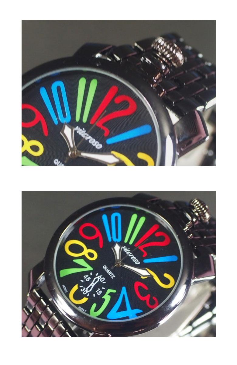 VITAROSO メンズ 腕時計 メタルウォッチ 日本製高性能省電力ムーブメント 生活防水