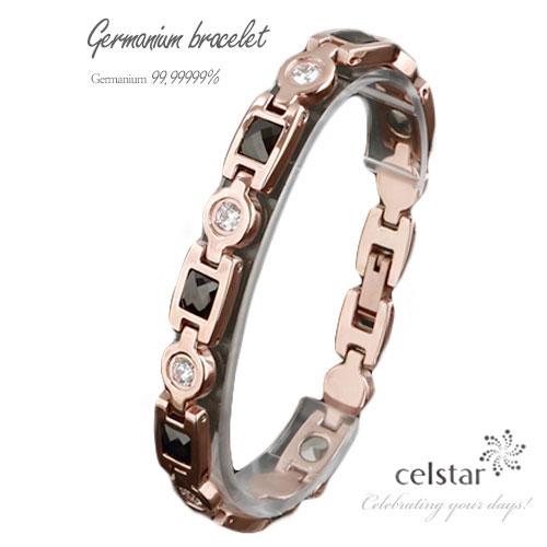Encore rose gold 7p 最高級品質 ゲルマニウム ブレスレット アクセサリー 健康 レディース プレゼントにも最適 ゴルフ 肩こり 健康 ギフト