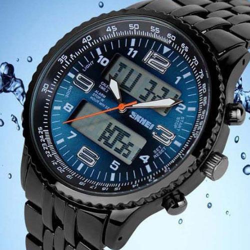 腕時計 時計 ランニングウォッチ スポーツウォッチ SKMEI ファッション メンズ カジュアル スポーツ腕時計 贈与 男軍事腕時計 格安 LED ご予約品 ウォッチ デジタル