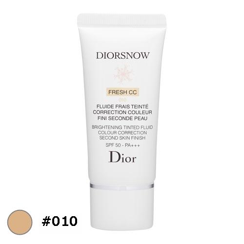 送料無料 ディオール(クリスチャンディオール) スノー ブライトニング フレッシュ CCクリーム 50 #010 30ml Christian Dior 化粧下地
