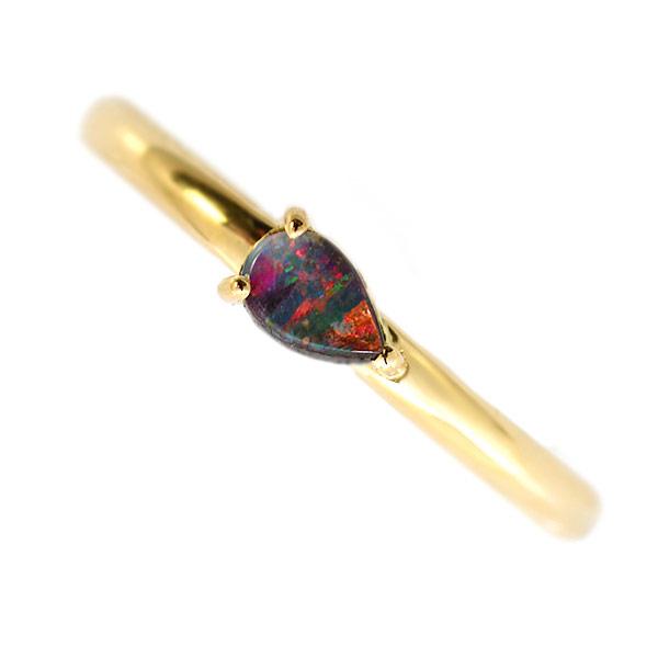 エントリーのみでポイント10倍 4/9 20時~ ボルダーオパールペアシェイプリングテクスチャーをお選び頂けますjewelry_benebene 送料無料
