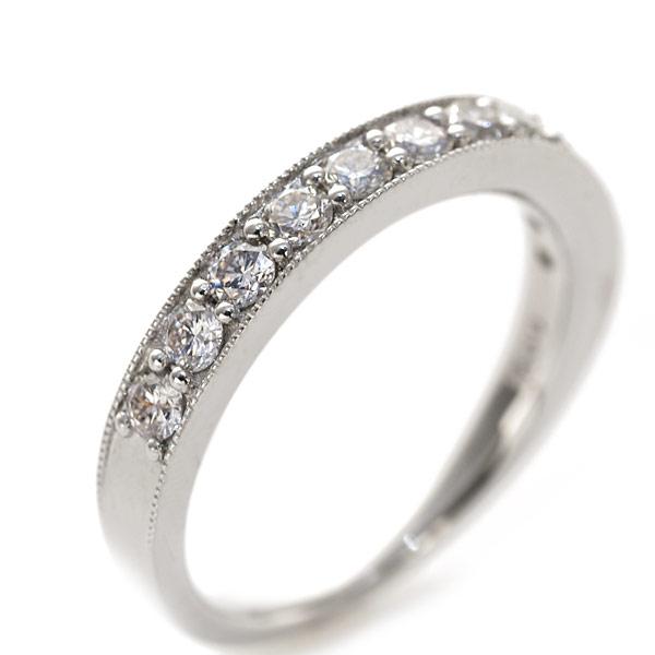 エントリーのみでポイント10倍 4/9 20時~ プラチナ900製 0.5ctダイヤモンドリング「煌きクラシカル」送料無料