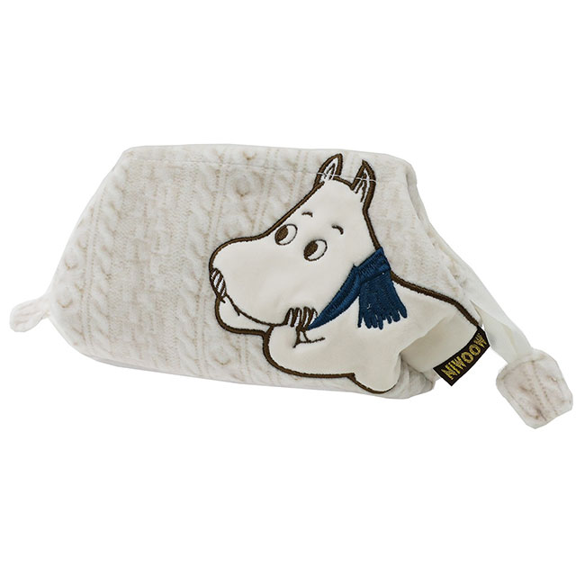 Moomin Embroidery Square Pen Pouch New Life Collection Friend