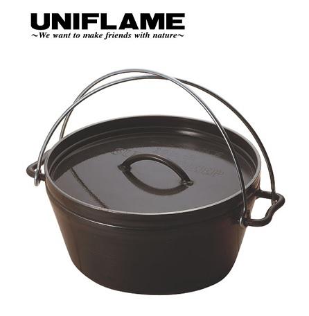 使い勝手の良い UNIFLAME (ユニフレーム) ダッチオーブンスーパーディープ UNIFLAME 10インチ (ユニフレーム)/キャンプ/アウトドア/調理器具/クッカー/ecsts, バイクCITY:2a760dcd --- supercanaltv.zonalivresh.dominiotemporario.com