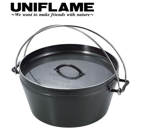 最も優遇 UNIFLAME (ユニフレーム) UNIFLAME ダッチオーブンスーパーディープ 12インチ/キャンプ/アウトドア/調理器具 (ユニフレーム)/クッカー/ecsts, ヘルスタウン:86eef4aa --- supercanaltv.zonalivresh.dominiotemporario.com