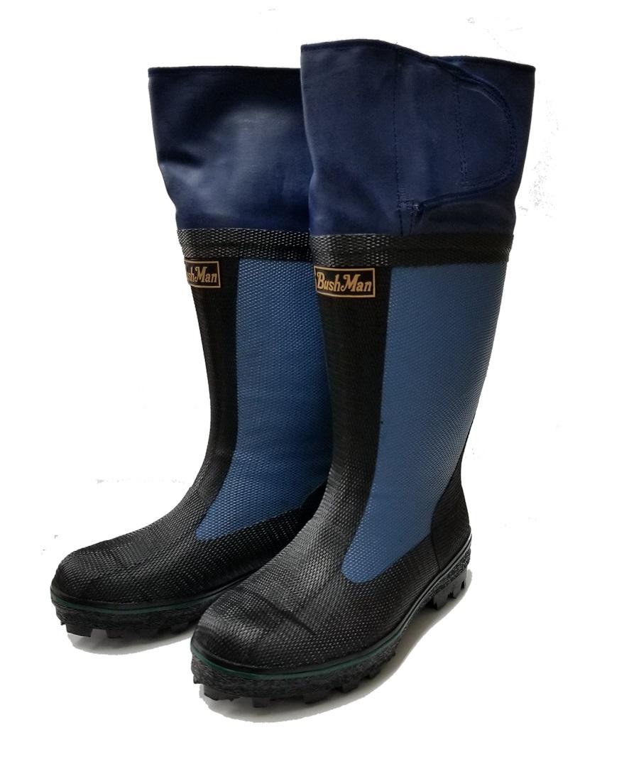 BushMan (ブッシュマン) スパイク付ブーツ エスキモー/ノンスリップ底/ハンティングブーツ/ボア付狩猟用防寒ブーツ/石井銃砲