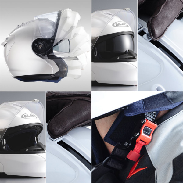 HJC RPHA10 MAX Alpha Max flip up system helmet RS Taichi HJH055
