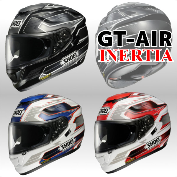 GT-Air INERTIA 지티에아이네르티아후르페이스헤르멧트 SHOEI