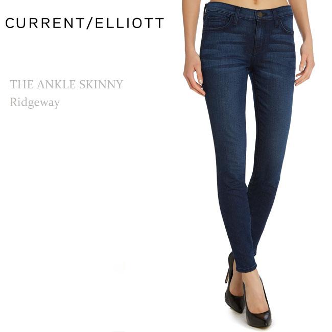 【SALE】Current Elliott(カレントエリオット)THE ANKLE Skinny Ridgewayアンクルスキニー/スキニーデニム