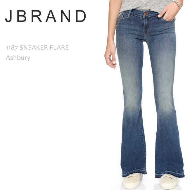 【SALE】J Brand(ジェイブランド・ジェーブランド)1187 MID RISE SNEAKER FLARE Ashbury【送料無料】ブーツカット/フレアデニム/デニム/ジーンズ