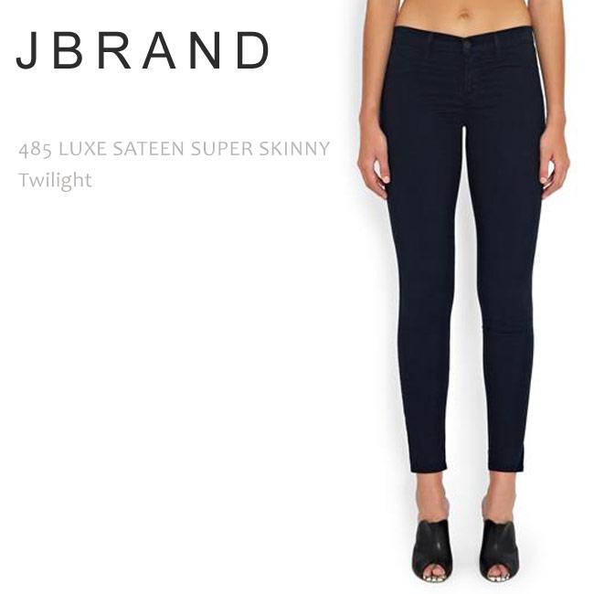 【SALE】J Brand(ジェイブランド・ジェーブランド)485 MID RISE SUPER SKINNY Twilightスキニー/カラーデニム/スーパースキニー